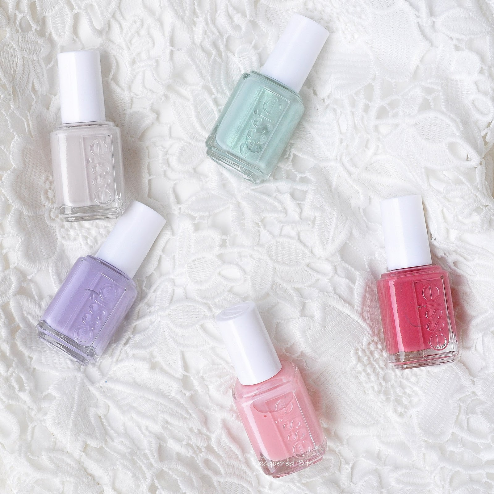 Essie Bridal 2016 - Mrs Always-Right Collection - Swatches & Review - Lacquered Bits