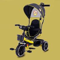 sepeda roda tiga anak pacific pc105 tricycle stroller