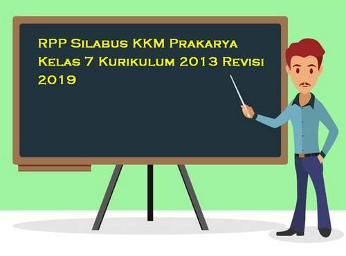 RPP Silabus Prakarya Kelas 7 Kurikulum 2013 Revisi 2019
