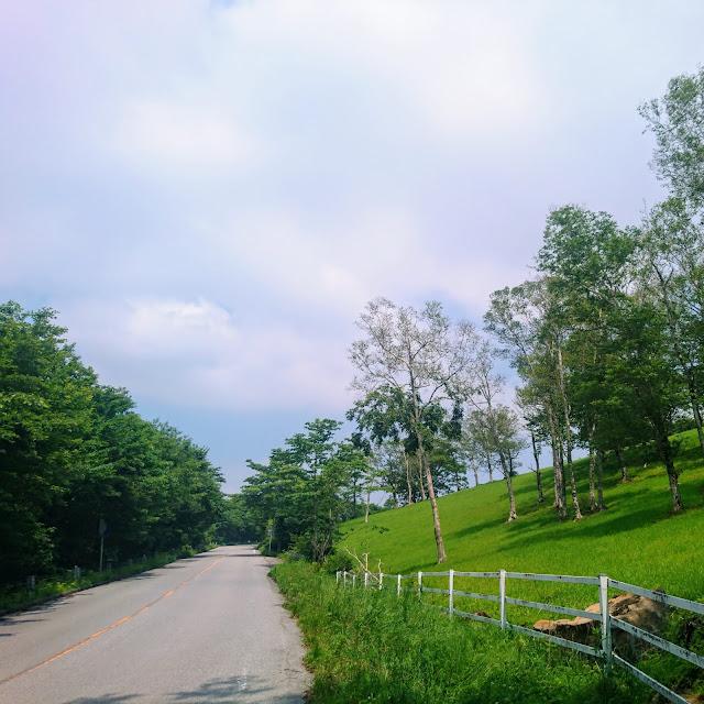 栗山日光線 大笹牧場
