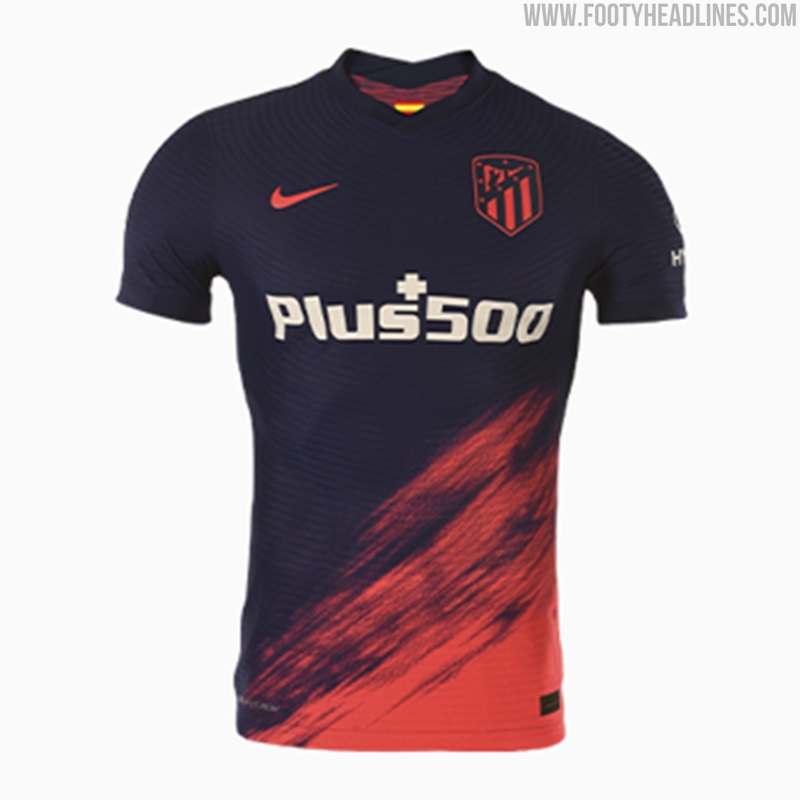 Atlético Madrid 21-22 Home, Away, Third & Fourth Kits Unveiled ...
