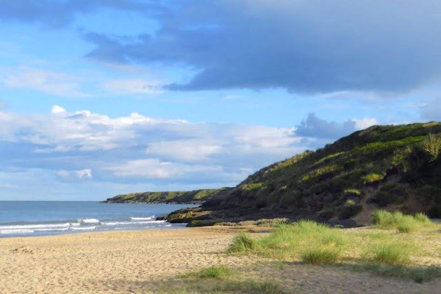 Brittas Bay in County Wicklow on the drive between Wexford and Dublin