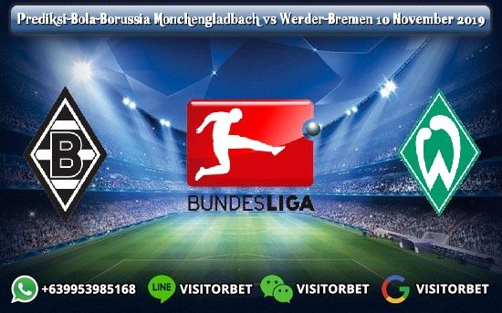 Prediksi Skor Borussia Monchengladbach vs Werder Bremen 10 November 2019