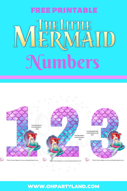 Free-Printable-The-Little-Mermaid