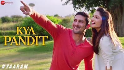 Kya Pandit Full Lyrics Song - Yaaram - Mika Singh