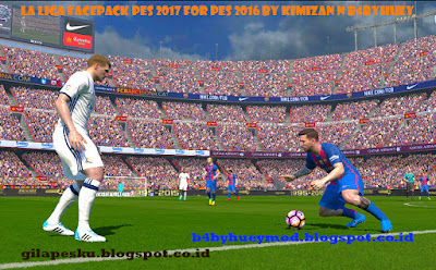 la Liga Facepack PES 2017 for PES 2016 by Kimizan N b4byhuey