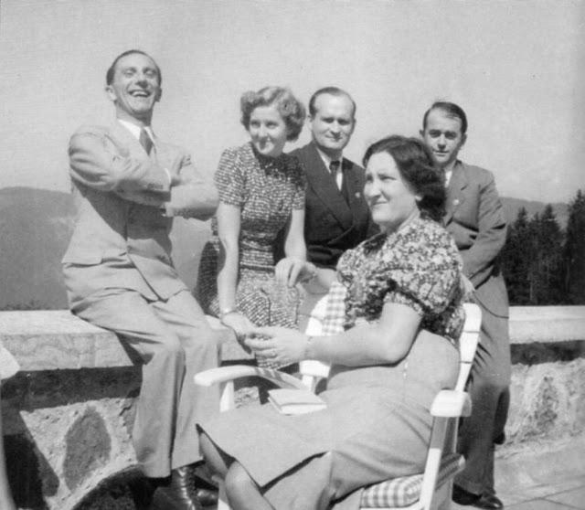 Albert Speer Joseph Goebbels Eva Braun Hans Haupner worldwartwo.filminspector.com