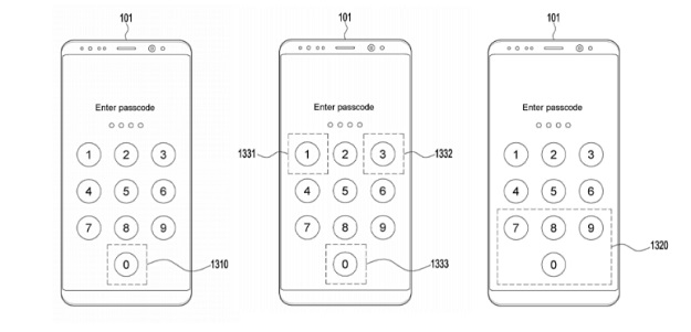 Samsung works on a new unlocking method with a larger sensor