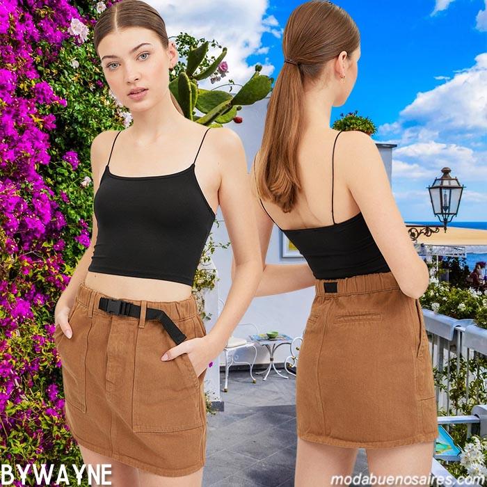 minifaldas primavera verano 2021