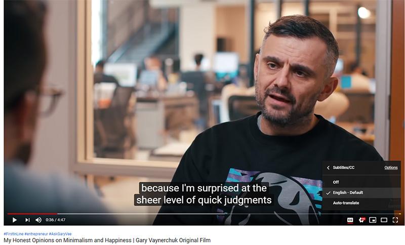 Terjemahan Video Garyvee Subtitle Indonesia #002