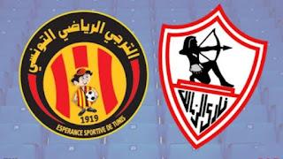 مشاهدة مباراة الزمالك ضد الترجي 6-3-2021 بث مباشر في دوري أبطال أفريقيا