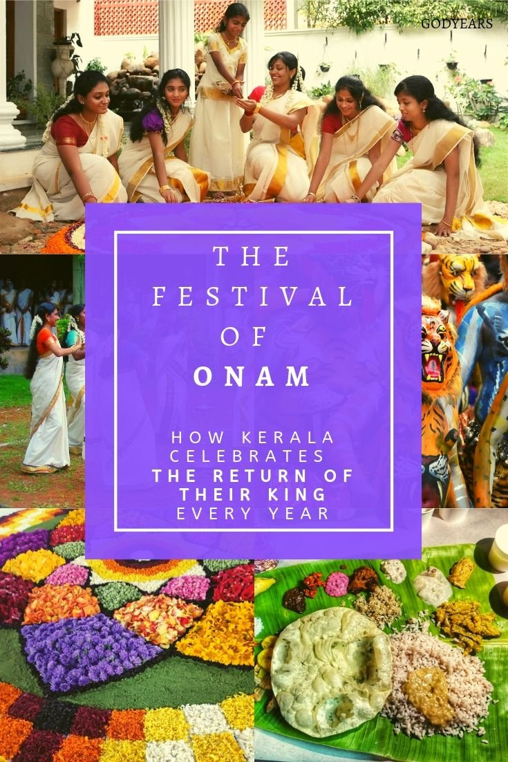 Kerala celebrates the festival of Onam for 10 days every year