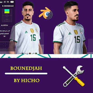 PES 2020 Faces Baghdad Bounedjah by Hicho