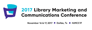 logo and wordmark of the Library Marketing and Communications Conference