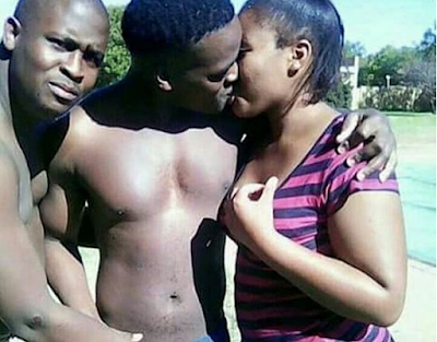 See What 2 Guys And A Girl Were Spotted DoingPhotos