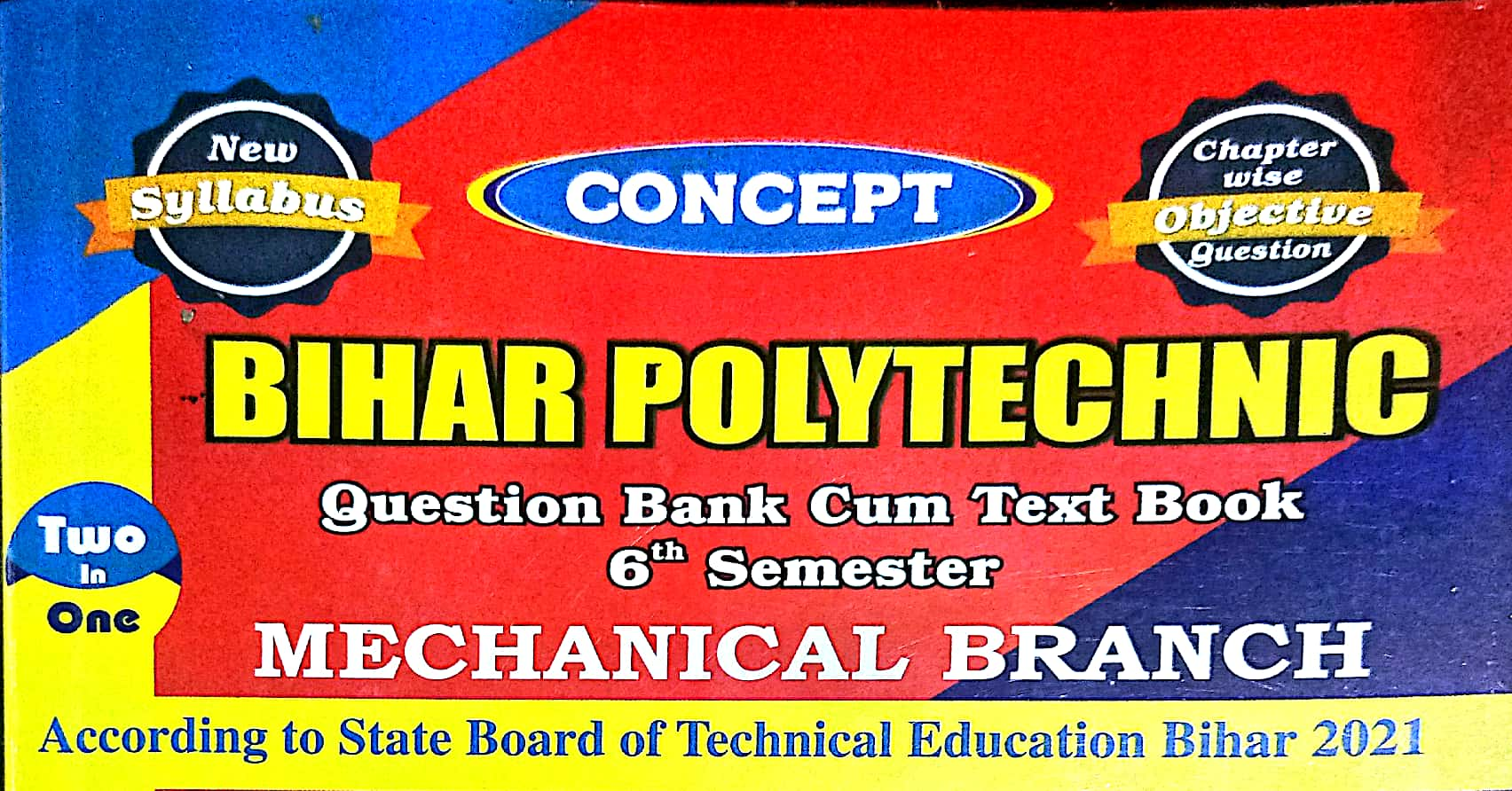 Download Venus Publication Question Bank   6th Sem Mechanical   SBTE BIHAR