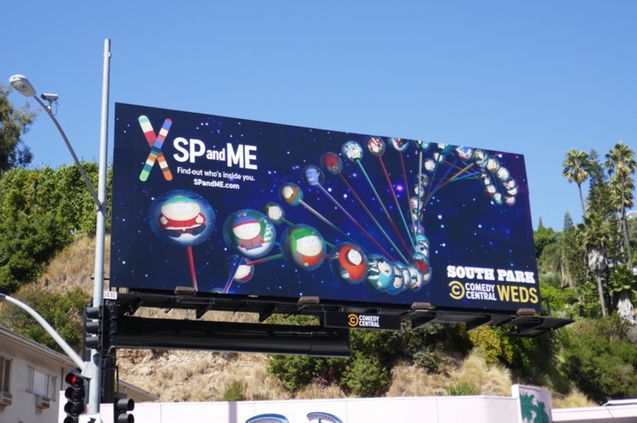 South Park season 23 SP and Me billboard