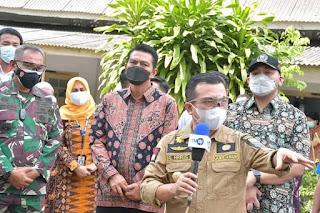 Bupati Batanghari Fadhil Arief dan Wakil Bupati Bakhtiar Sambut Kunker Gubernur Jambi Al Haris