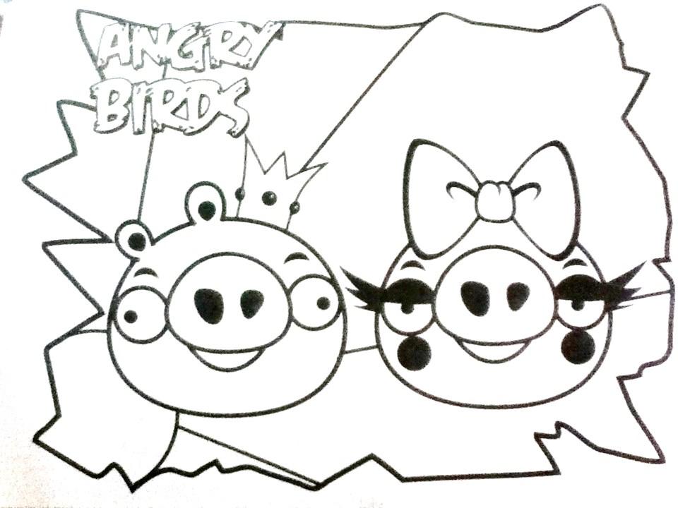 25 Desenhos Do Angry Birds Para Colorir Em Casa: Desenhos Para Pintar: Desenhos Dos Angry Birds Para Colorir