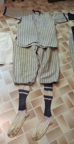 1922 baseball uniform