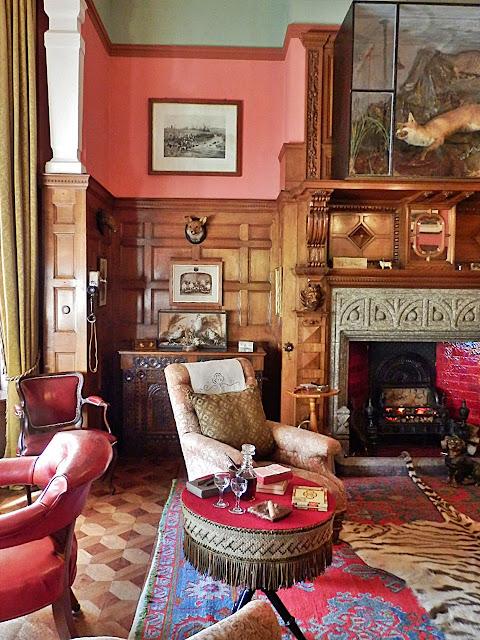 Sitting Room, Lanhydrock House, Cornwall