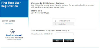 How To Register RHB Online Banking Malaysia