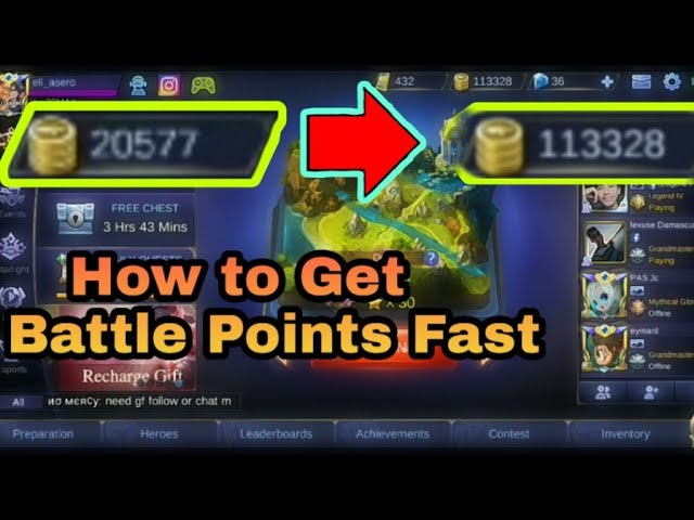 Get Mobile Legend Unlimited Diamonds For Free! Working [2021]