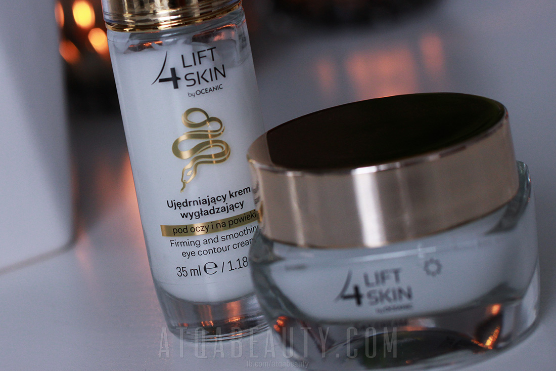 Żmijowy LIFT4SKIN – krem-żelazko i krem pod oczy
