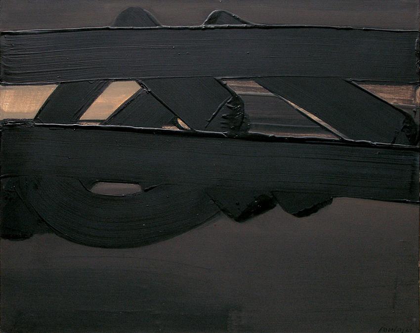 Pinturas de Pierre Soulages