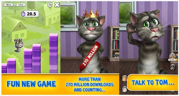 🐈 Talking tom 2 mod apk unlimited money and gems download