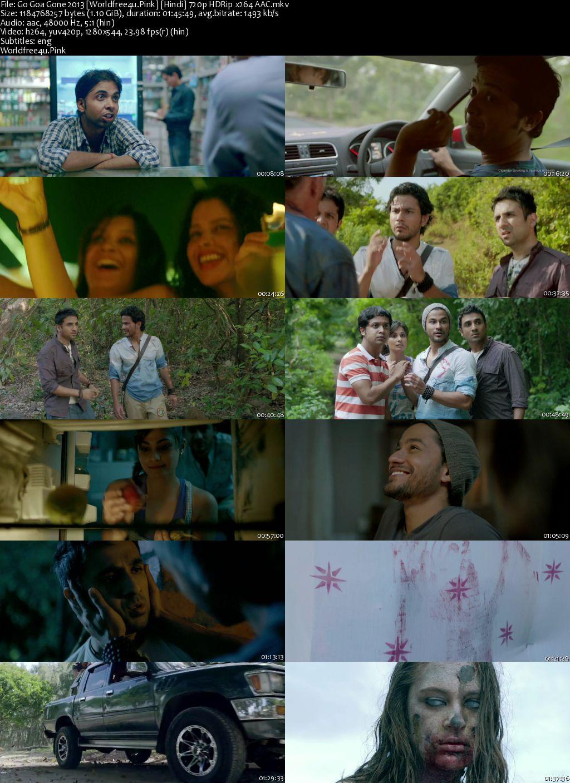 Go Goa Gone 2013 Hindi HDRip 720p