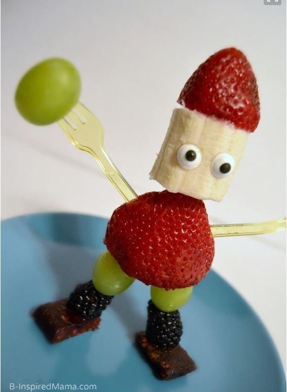 Paleolivet: frugt sjov til dig der elsker at lege med maden