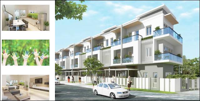 Mua nhà phố Mega Village Khang Điền những vị trí cuối