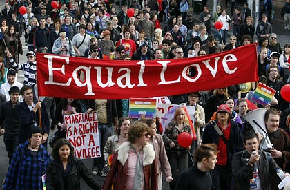 Gay Marriage Protests 95