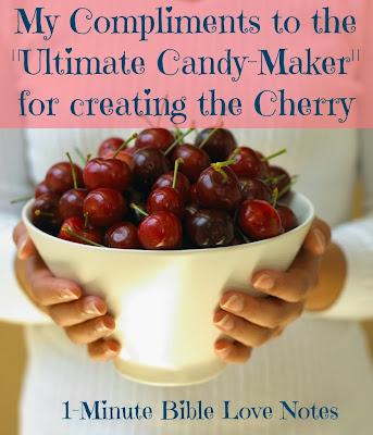 God created the cherry, creation, Bible