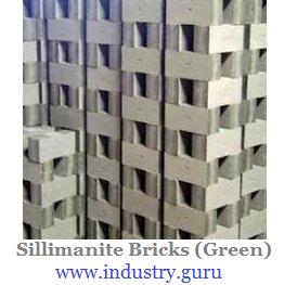 https://www.industry.guru - Sillimanite Bricks image