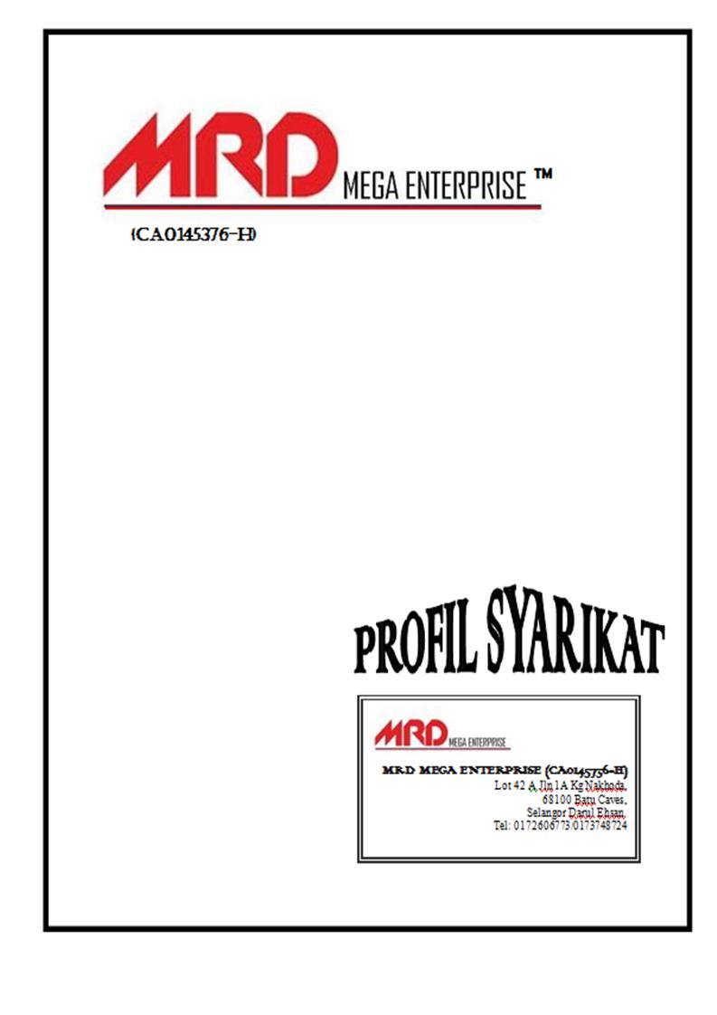 Contoh Company Profile Syarikat - Contoh Moo