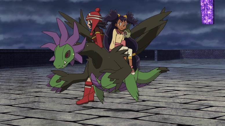 Hydreigon Shiny Anime Pokémon