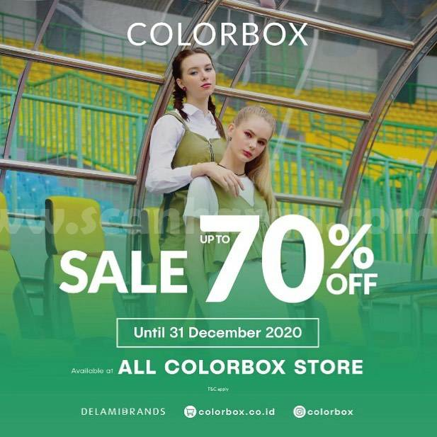 COLORBOX Promo SALE Up to 70% Off