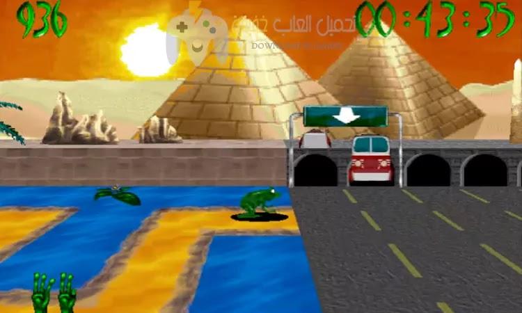 تحميل لعبة الضفدعة القديمة Frog Frenzy للكمبيوتر برابط مباشر