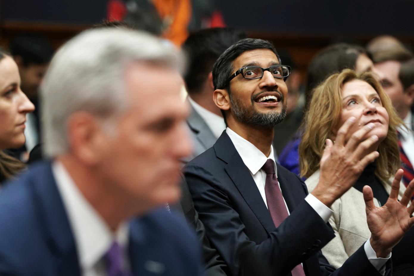 I fondatori di Google lasciano tutto a Sundar Pichai