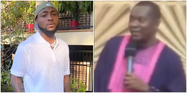 God showed me Davido will be Poisoned by one of his Boys- Prophet (Video)