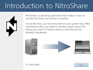 konfigurasi awal nitroshare