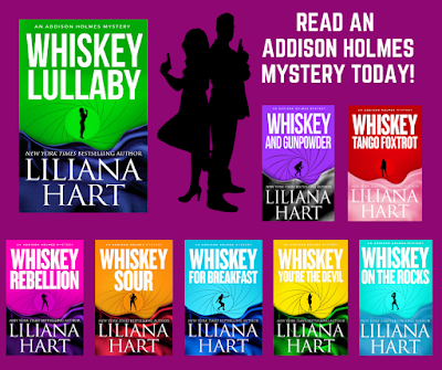 Addison Holmes Mysteries-8 book series by Liliana Hart