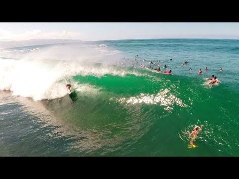 GoPro Birds Eye Barrel with Nathan Florence
