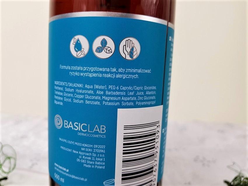 BasicLab Płyn micelarny do skóry suchej i wrażliwej