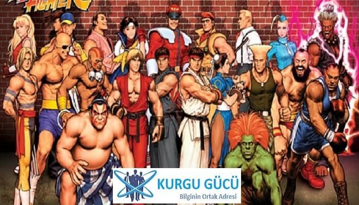 Film Olan Oyunlar Listemizde 8 Harika Oyun - Street Fighter - Kurgu Gücü
