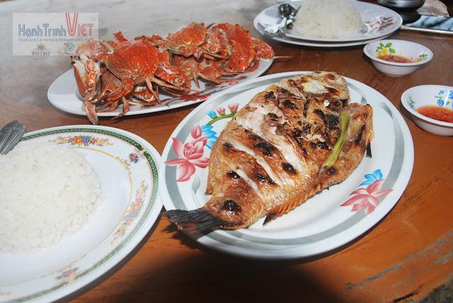 Ghẹ 10 USD/ kg, Cá Hồng biển 6 USD/ con