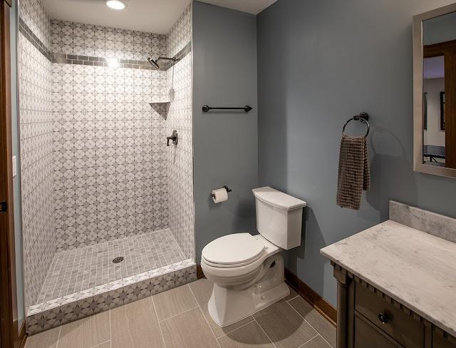 ห้องน้ำและโซนอาบน้ำ