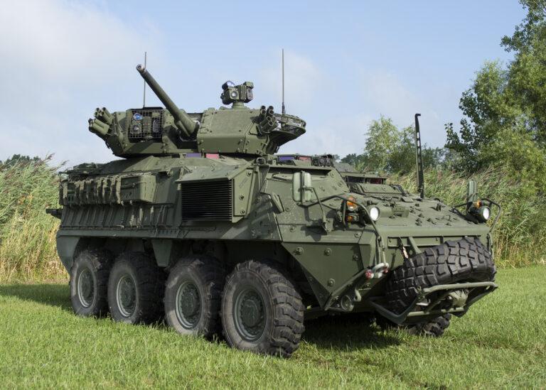 Армія США спише всі самохідні гармати Stryker MGS